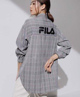 〈FILA〉バックロゴシャツチュニック