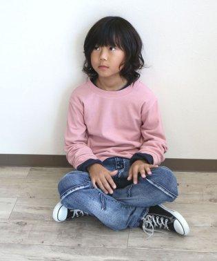 ハイSTデニム切替パンツ(150~160cm)
