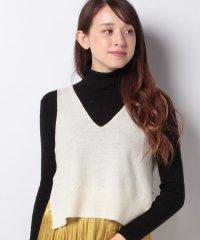 【mizuiro ind】V neck short vest