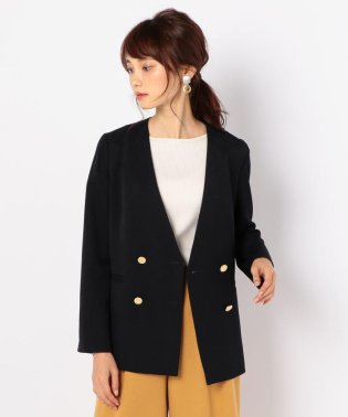 ウール調合繊ジャケット