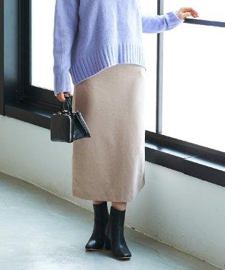 バックスリットロングスカート
