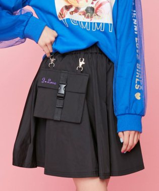 リムーバブルポケットスカート
