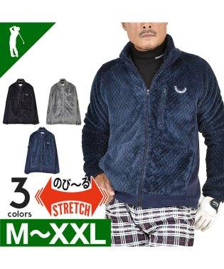 【COMON GOLF】防寒リバースウェーブフリースゴルフジャケット(CG-JK809)