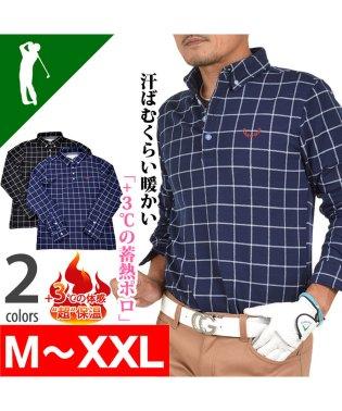 【COMON GOLF】スタイリッシュ蓄熱長袖ゴルフポロシャツ(CG-LP551)