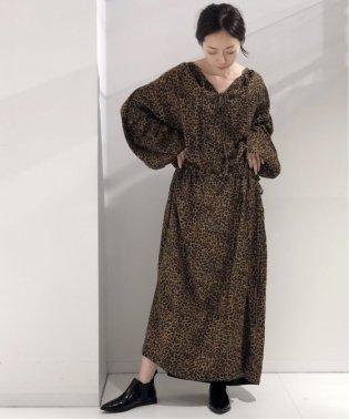 【LAURENCE BRAS】レオパードドレス