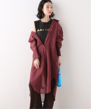 【JANE SMITH/ジェーンスミス】TUCK LONG SHIRTS:ロングシャツ