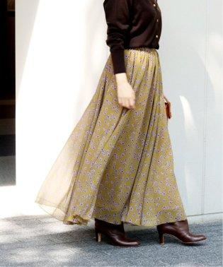 楊柳フラワースカート◆