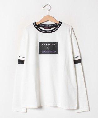 衿リブTシャツ