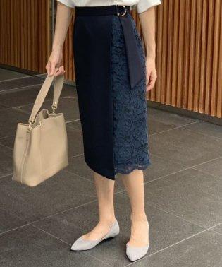 アシメレースタイトスカート