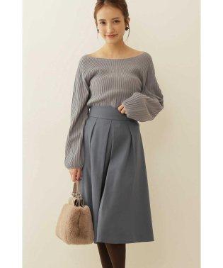 ◆タックフレアーサキソニースカート