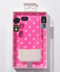 〈Kajsa/カイサ〉iPhone6/6S Neon Star Back Case/ネオンスター バックケース