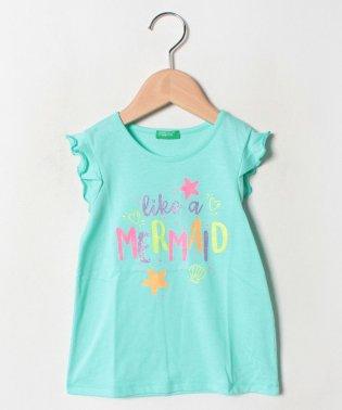 マーメイドフリル半袖Tシャツ・カットソー