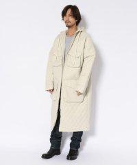DROLE DE MONSIEUR/ドロールドムッシュ/Quilt Patch Pocket Long Coat/キルトパッチポケットロングコート