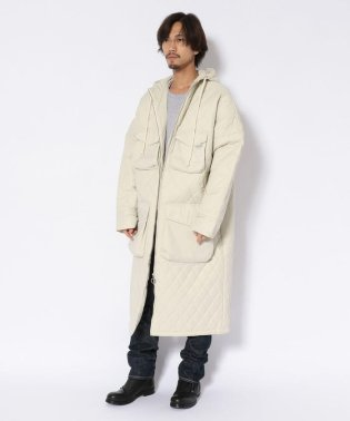DROLE DE MONSIEUR/ドロールドムッシュ/Quilt Patch Pocket Long Coat/キルトパッチポケットロングコート