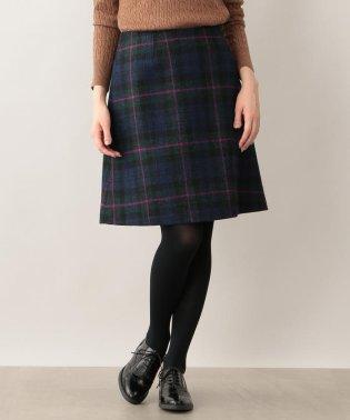 ハリスツイードスカート