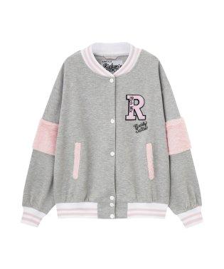 RICH MIX リッチミックス ガールズ 袖ファースタジャン 361574015