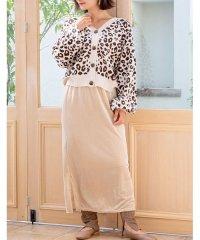 [ボトムス スカート]ベロアコーデュロイタイトスカート[190690]しっとりキレイな冬スカート
