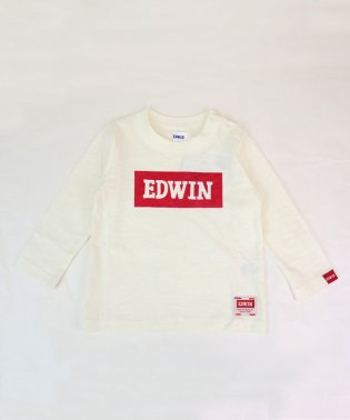 エドウインボックスロゴ長袖Tシャツ