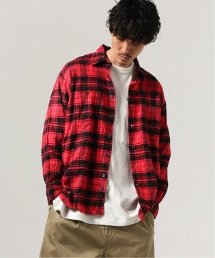 【INDIVIDUALIZED SHIRTS】CHECK/LOGE シャツ