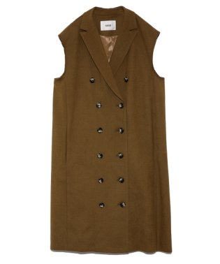 ノースリーブジャケットドレス