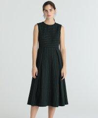 【TV着用】ラインロゴジャガードドレス