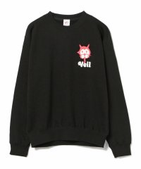 VEIL / Print Sweat Black