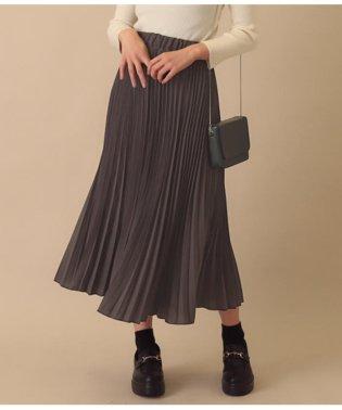 ウエストゴムプリーツスカート
