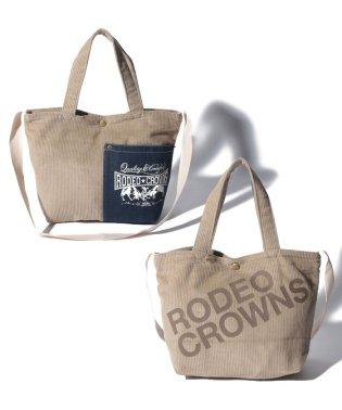【RODEO CROWNS】 CORDUROY SHOLDER BAG