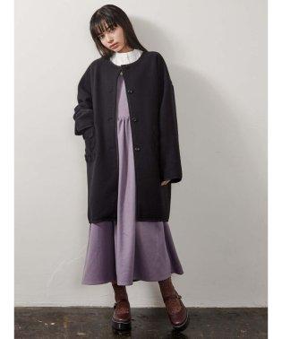 flowerポケットcoat