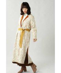 Wool Jacquard Coat