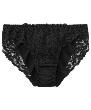 ショーツ 女性 フラワーレース プレーンショーツ (下着 パンティ パンツ かわいい レース パンティー 女性 シンプル 黒 ピンク ボルドー ネイビー 刺繍