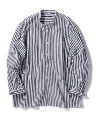 SC: バンドカラー リラックス ボックス シャツ