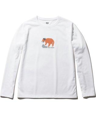 ヘリーハンセン/レディス/L/S DRY ANIMAL TEE