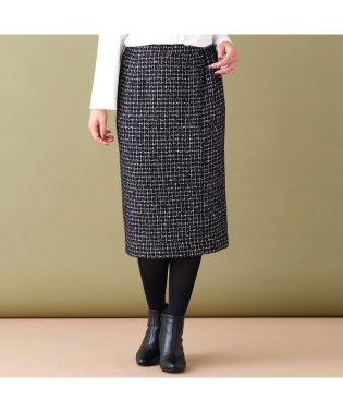 ウール混ツィードタイトスカート[セットアップ対応]
