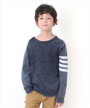 インディゴニット・ミドルゲージセーター