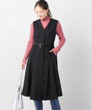 【Arobe/アローブ】ジレワンピース