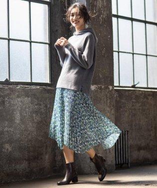 【マガジン掲載】イタリア RATTI フラワープリントスカート(検索番号Q49)