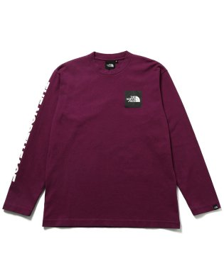 【THE NORTH FACE】 L/S SQUARE LOGO TEE