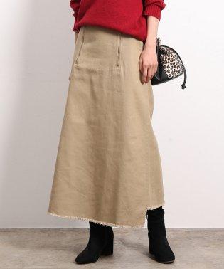 ダブルジップムジロングスカート