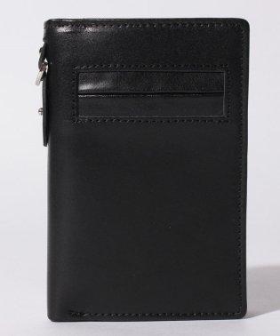 【magaseek/d fashion限定】【IGGINBOTTOM】栃木レザー×姫路レザー 縦型二つ折り財布