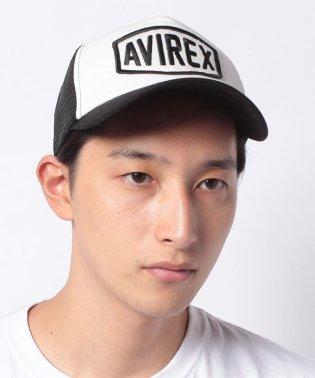 【AVIREX】ビッグワッペンメッシュキャップ