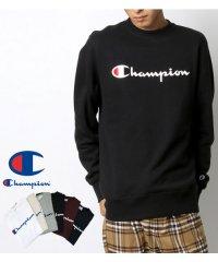 【至極の逸品】【Champion】チャンピオン ロゴ 裏毛 トレーナー