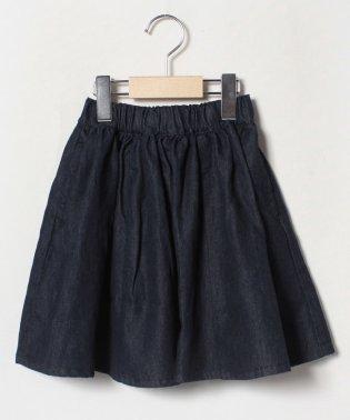 デニムギャザースカート