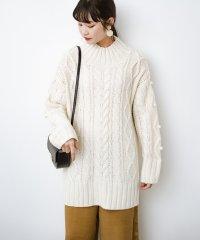 ざっくり編みは女の子がかわいく見えるってよ(噂)パプコーンローゲージニット