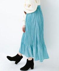 1枚でかわいいのはもちろん ワンピースとの重ね着にも便利なプリーツスカート