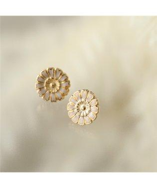 LD HEN 4 Henriette アンリエット Small earrings フラワー ピアス ゴールド レディース