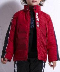 リップタフタ袖ライン中綿ジャケット(140cm~160cm)