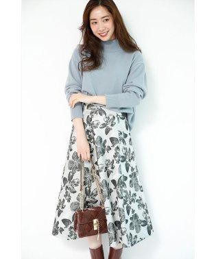 【Marisol12月号掲載】フラワージャガードスカート