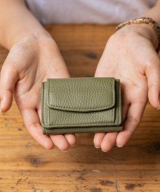 MURA ミニ財布 三つ折り レディース 本革 スキミング防止機能 財布