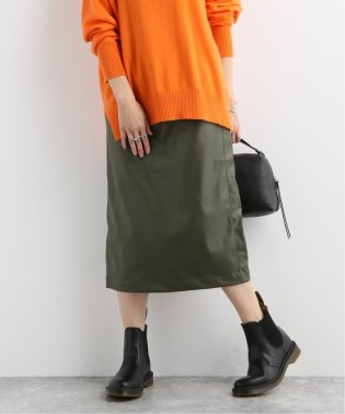 KEN-YOUシンフェイクレザースカート